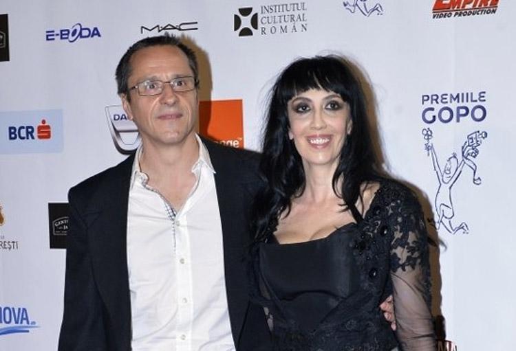 Claudiu Bleonț (60 de ani) și soția sa, actrița Iulia Lazăr (44 de ani)