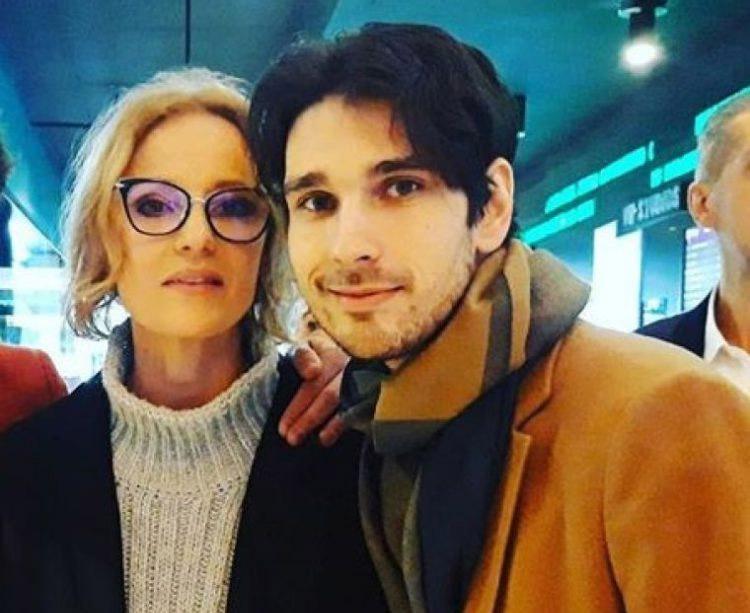 Actrița Lia Bugnar (52 de ani) și partenerul ei, tânărul scenarist Anghel Damian (29 de ani)