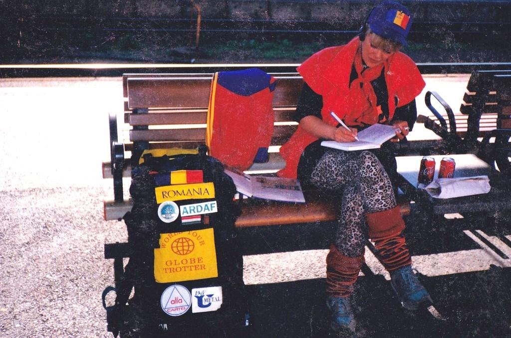 Mariea Crâșmaru, prima femeie globe-trotter din lume