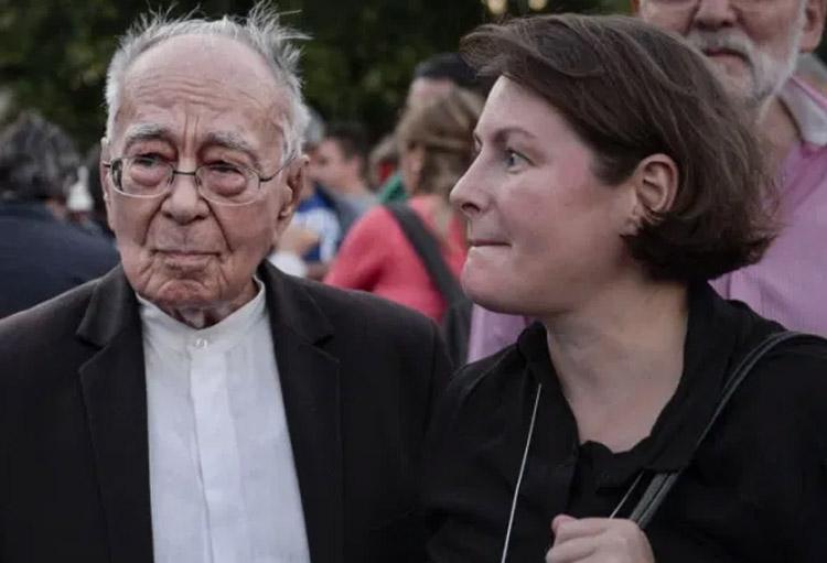 Filosoful Mihai Șora s-a căsătorit la venerabila vârstă de 98 de ani cu poeta, eseista și traducătoarea Luiza Palanciuc.